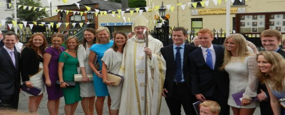 Congratulations and welcome to Bishop Denis Nulty
